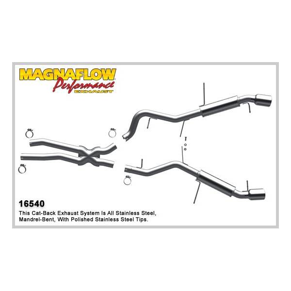 Demi-ligne inox magnaflow BMW 335i/ix E90 3.0L sauf Cabriolet