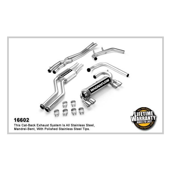 Demi-ligne inox magnaflow BMW M3 3.2L Coupe E46