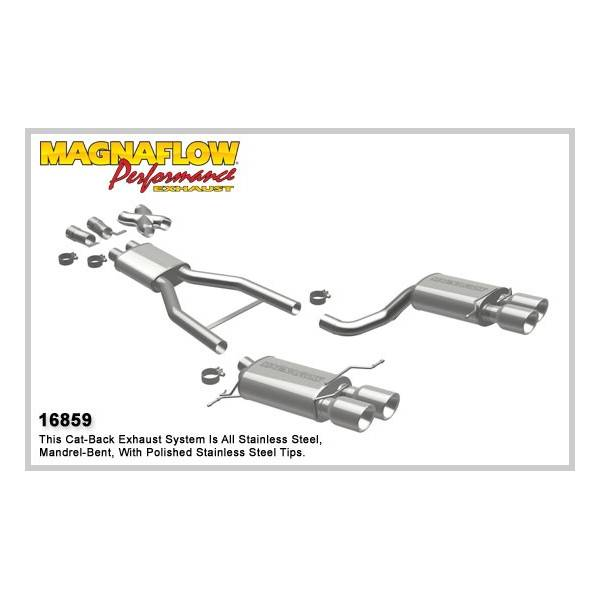Demi-ligne inox magnaflow BMW M5 5.0L E60