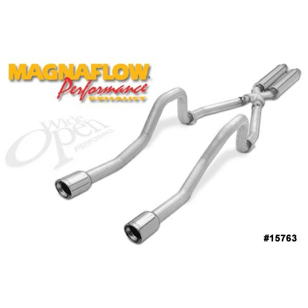 Silencieux inox Magnaflow Chevrolet Corvette C5 5.7L Rolling T (5.7L)