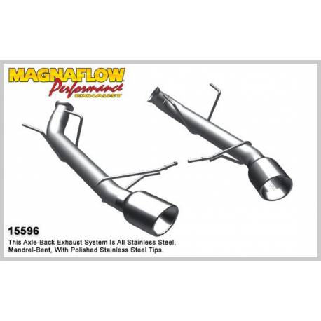 Silencieux inox Magnaflow Ford Mustang 3.7L