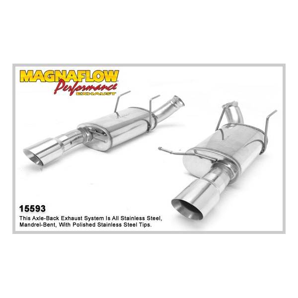 Silencieux inox Magnaflow Ford Mustang 5.0L (V8 5,0L ou Shelby GT500)