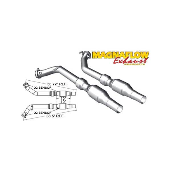 Catalyseur Sport Magnaflow Audi RS4 4.2L V8 both