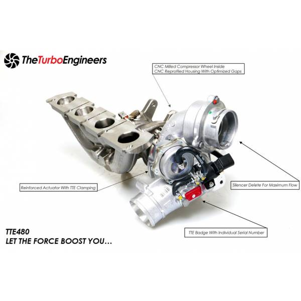 Kit Upgrade Turbo TTE Turbo pour 2.0 TFSI EA113