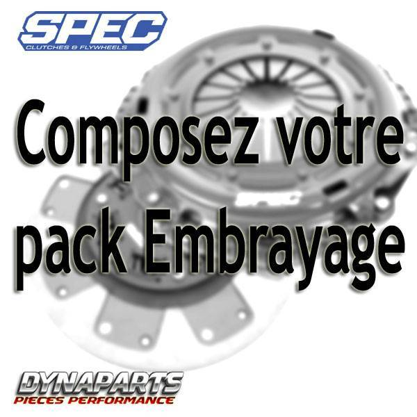 Embrayage renforcé Spec FORD Mustang single-296