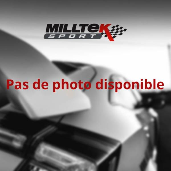 Demi-ligne / Cat-back Milltek Golf MK7 R 2.0 TSI 300CV SSXVW406